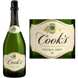 Cook's Extra Dry Champagne Wine