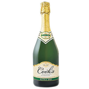 Cooks Extra Dry Champagne Wine