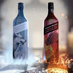 Johnnie Walker Song of Ice and Song of Fire Whiskey